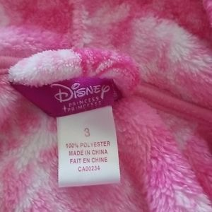 Disney Princess fleece house coat set